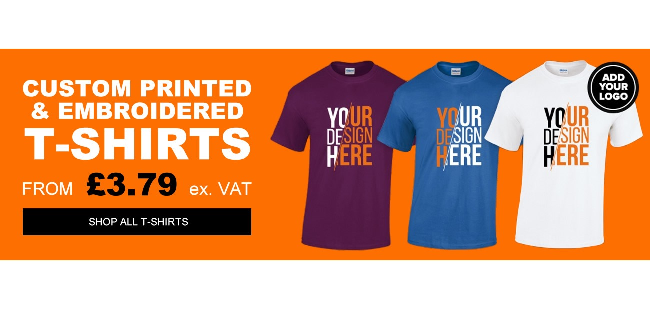 custom Printed & Embroidered T-Shirts