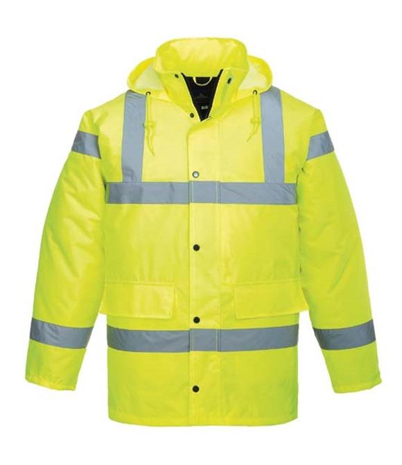 add company Hi Visibility Hi Viz Waterproof Jacket XXXL 3xl BRAND NEW PACKED