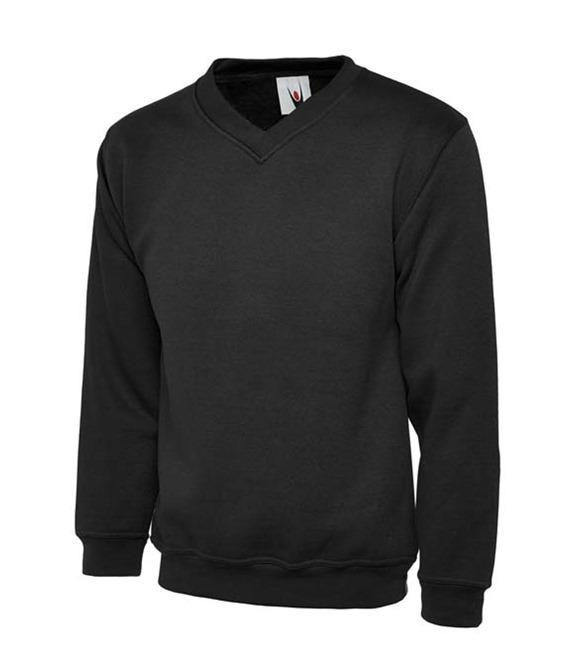 Uneek 340GSM Premium V-Neck Sweatshirt