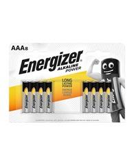 Energizer Alkaline power AAA Batteries pack 8