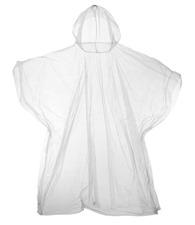 JB Kids emergency hooded plastic poncho