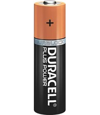 Duracell Plus Power AA batteries 4-pack