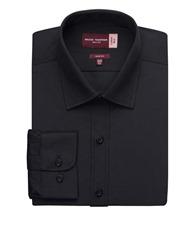 Brook Taverner Alba cotton-rich slim fit shirt