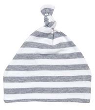 Babybugz Baby stripy one-knot hat