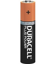 Duracell Plus Power AAA batteries 4-pack