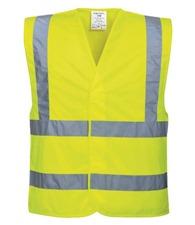 Portwest Hi-vis two-band-and-brace vest (C470)