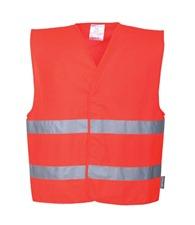 Portwest Hi-vis two-band vest (C474)