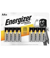 Energizer Alkaline power AA Batteries pack 8