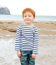 Mantis Mini Kids Breton Long Sleeve T-Shirt
