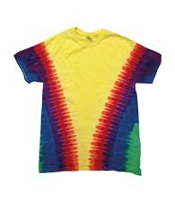 Colortone Kids rainbow vee T