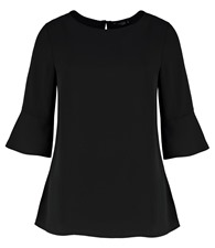 Clayton & Ford Women's fluted sleeve top (regular fit)