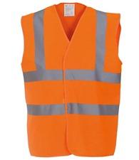 Personal Protective Wear 2 Metre hi-viz vest