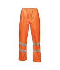 Regatta High Visibility Hi-vis pro pack-away trousers