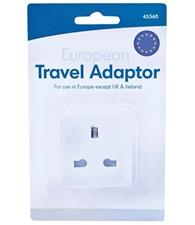 Home & Living EU travel adaptor