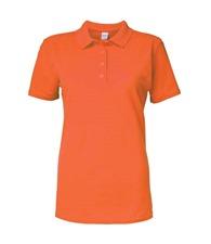 Gildan Women's Softstyle™ double piqué polo