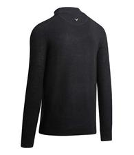 Callaway Ribbed ¼ zip Merino sweater