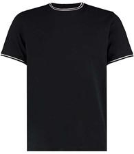 Kustom Kit Tipped tee (fashion fit)