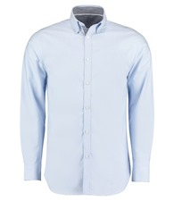 Clayton & Ford contrast Oxford shirt long sleeve (tailored fit)