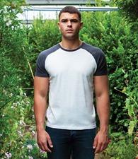 Superstar by Mantis Contrast Baseball T-Shirt