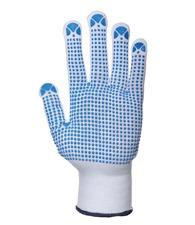 Portwest Nylon polka dot glove (A110)