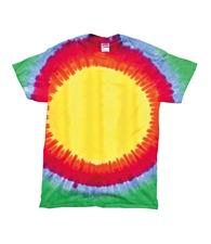 Colortone Kids rainbow sunburst T