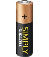 Simply by Duracell AA 12-pack